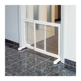 Trixie Hunde-Absperrgitter 4-teilig 60–160×75cm weiß