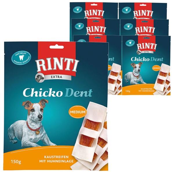 Rinti Hundesnack Chicko Dent Huhn Medium 6x150g