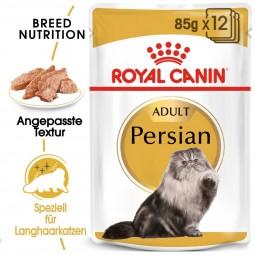 ROYAL CANIN Persian Adult Katzenfutter nass für Perser-Katzen