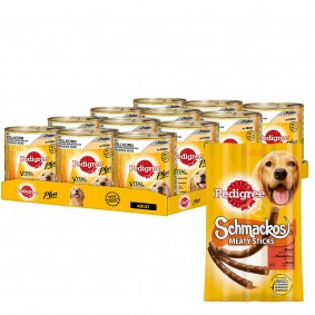Pedigree Plus Vollkorn Huhn in Pastete