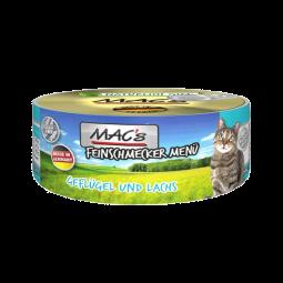 MAC's Cat Feinschmecker Menü Geflügel und Lachs