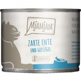 MjAMjAM zarte Ente&Geflügel an leckeren Möhrchen