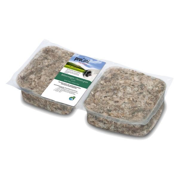 proCani Frostfutter Blättermagen / Pansen grün