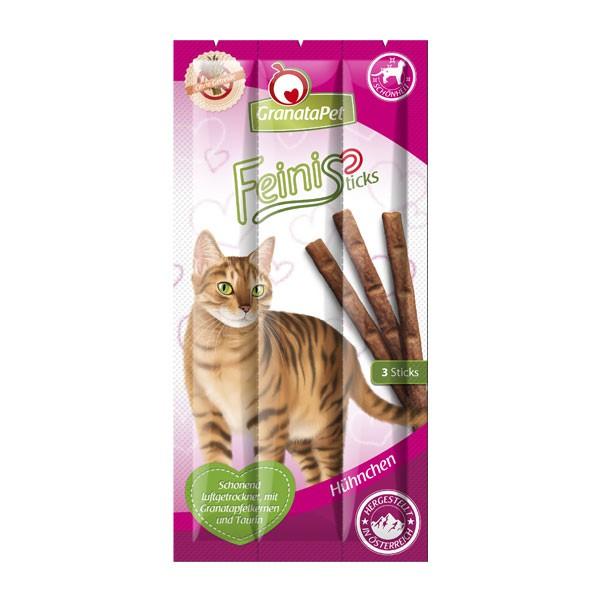 GranataPet Katzensnack FeiniSticks Hühnchen 3 Stück