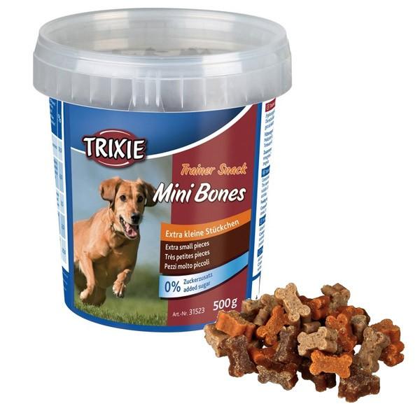 Trixie Trainer Snack Mini Bones 500g