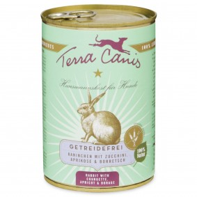 Terra Canis bez obilovin skrálíkem, cuketou, meruňkami abrutnákem