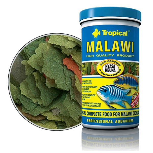 Tropical Fischfutter Malawi Flakes