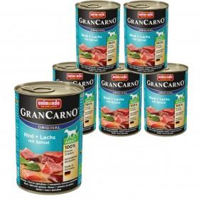 Animonda GranCarno Original Adult Rind und Lachs mit Spinat