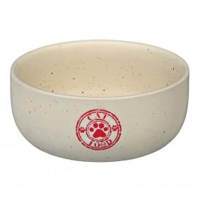 Trixie Keramiknapf cat food creme 300ml