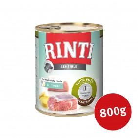 Finnern Rinti Hunde-Nassfutter Sensible Pute und Kartoffeln 800g - Sale Angebote Lindenau