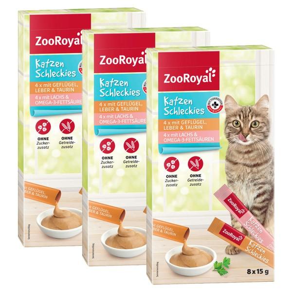 ZooRoyal Katzen-Schleckies 3x8x15g