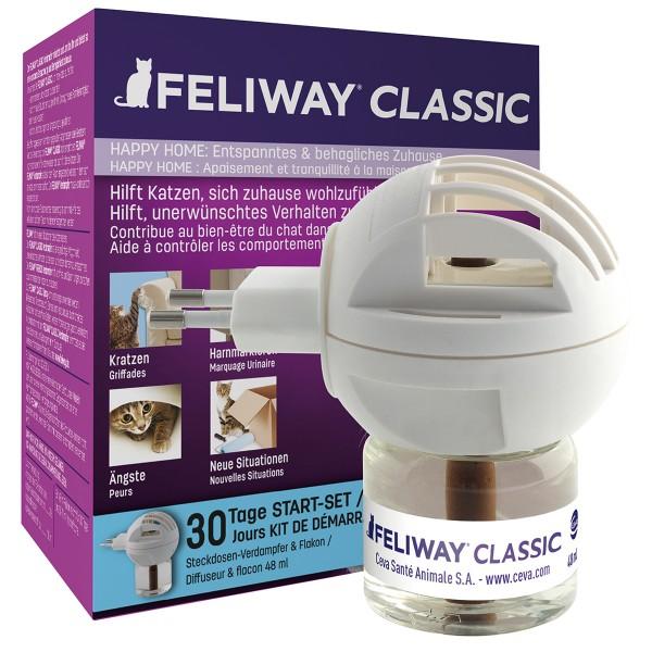 Feliway Classic Verdampfer Happy Home Start-Set 48ml