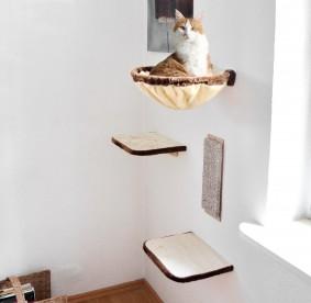Silvio Design Katzen-Kletterwand 4-teilig