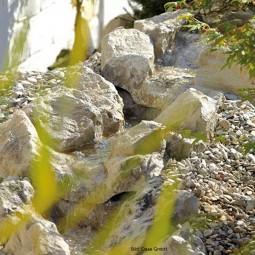 Oase Bachlaufschale sand - Gerade