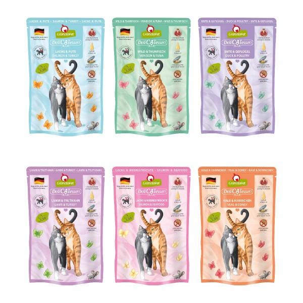 GranataPet Katze - Multipack 1 DeliCatessen