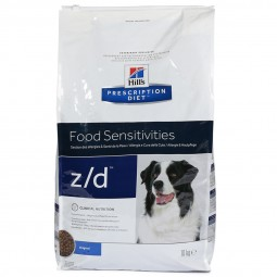 Hill's Prescription Diet z/d Food Sensitivities Hundefutter mit Huhn