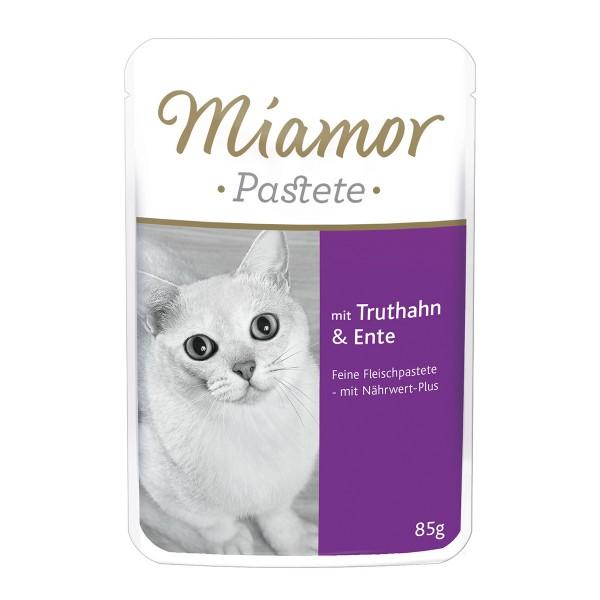 Miamor Katzenfutter Pastete Truthahn und Ente