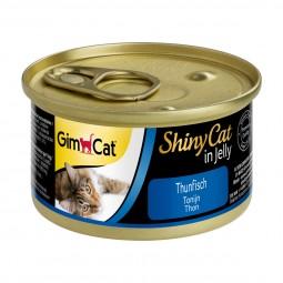 GimCat Katzenfutter ShinyCat Thunfisch in Jelly