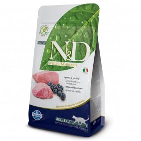 N&D Katzenfutter Lamm&Heidelbeeren Adult getreidefrei