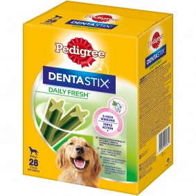 Pedigree DentaStix Fresh Multipack, 4 x 7 kusů