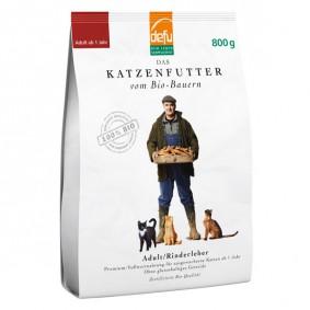 Defu Katzenfutter Bio Adult Rinderleber