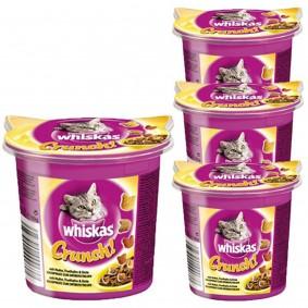Whiskas Crunch mit Huhn, Truthahn & Ente 100g