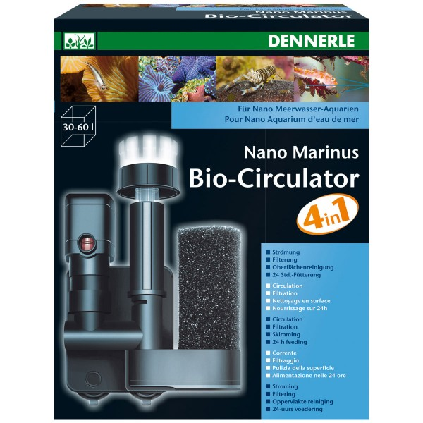 Dennerle Nano Marinus Bio-circulateur 4in1