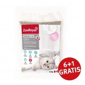 ZooRoyal Premium Grey Selection Ultra Klumpstreu 42l