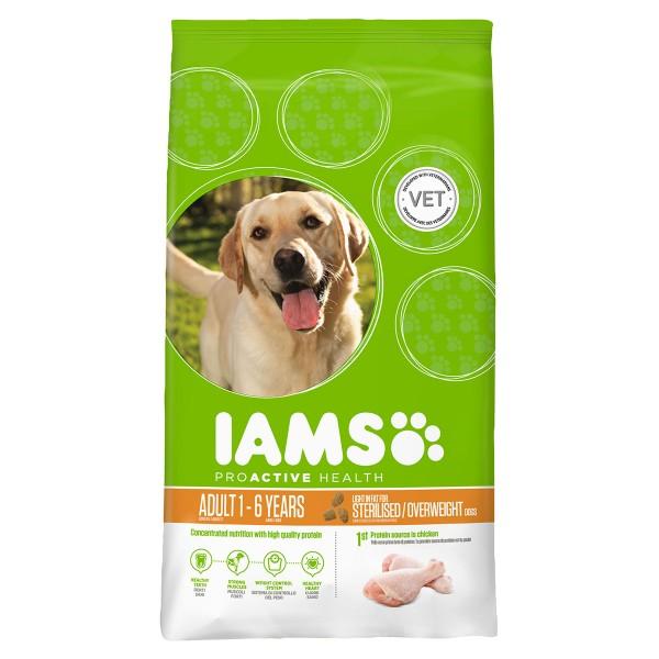 IAMS DOG Adult Weight Control Chicken 3kg