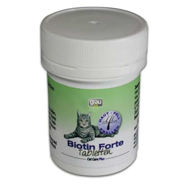 Grau Cat Care Plus Biotin-Tabletten