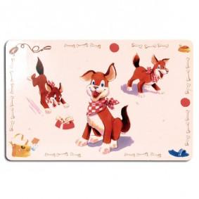 Trixie Napfunterlage - Comic-Hund