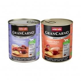 Animonda Gran Carno Sensitiv Kartoffel 12x800g Mixpaket