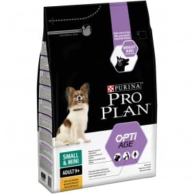 Pro Plan OPTIAGE Small Adult 9+, 4x3kg + 3kg gratis