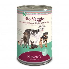 Herrmanns Bio Hundefutter Veggie mit weißer Süßlupine, Dinkel und Gemüse 400g