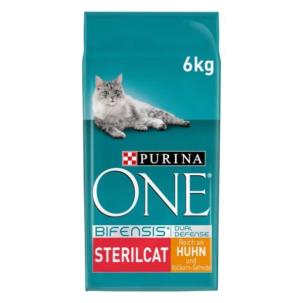 PURINA ONE BIFENSIS STERILCAT Katzenfutter trocken für sterilisierte Katzen Huhn
