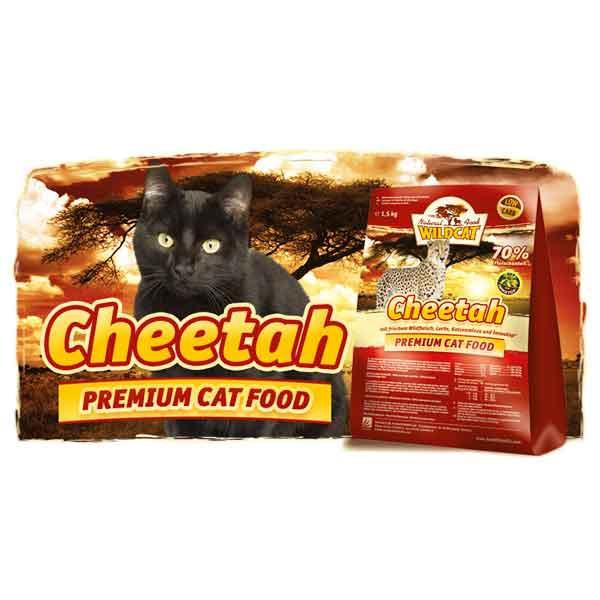 Wildcat - Cheetah Wildfleisch und Lachs 3kg