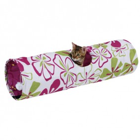 Kerbl Tunnel pour chats Flower