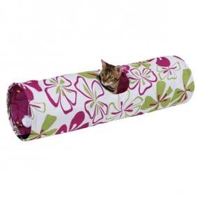 Kerbl kočičí tunel na hraní FLOWER