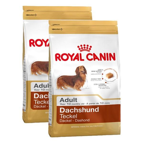 Royal Canin Dachshund Adult Hundefutter für Dackel 2x7,5kg