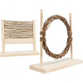 Trixie Kaninchen Agility-Set mit Hürde und Ring