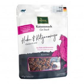 Hunter Katzensnack, Huhn & Katzenminze 45g