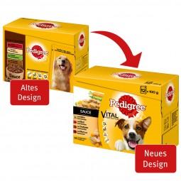 Pedigree Vital Protection in Sauce Multipack 3 plus 1 gratis