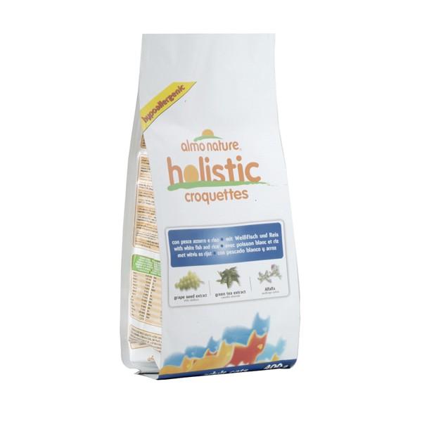 Almo Nature Holistic Cat Weissfisch+Reis - 400g