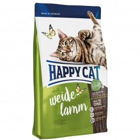 Happy Cat Supreme Adult Weide-Lamm 3x4kg