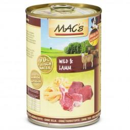 MAC's Dog Hundefutter Wild & Lamm
