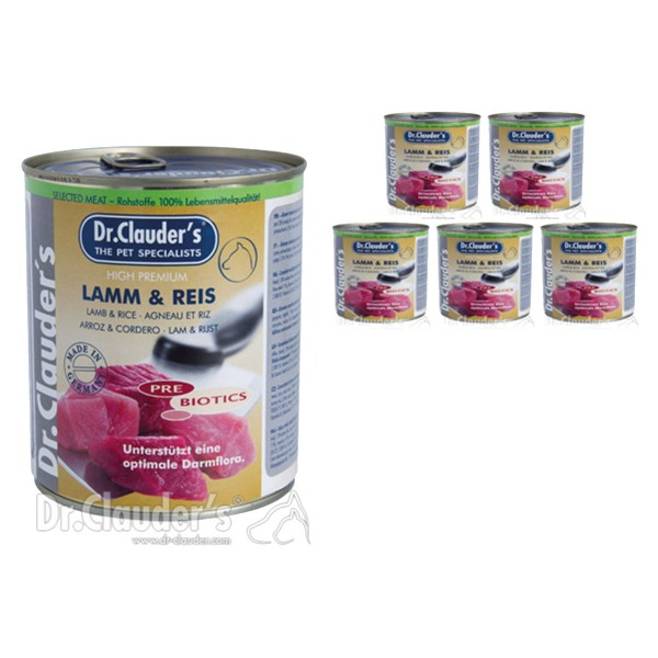 Dr. Clauders -Selected Meat PreBiotics 6x800g