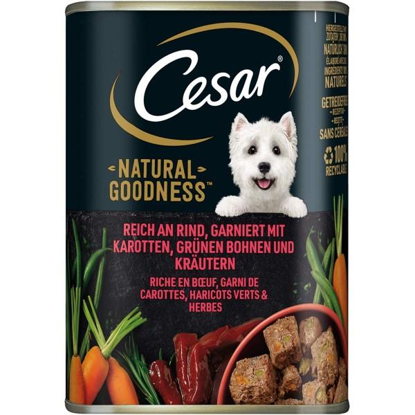 CESAR NATURAL GOODNESS Dose mit Rind