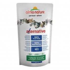 Almo Nature Alternative dry Cat Wachtel und Reis