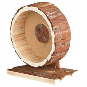 Trixie Laufrad aus Naturholz für Hamster und Mäuse