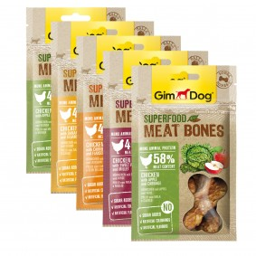 GimDog Superfood Meat Balls Probierpaket 5x70g